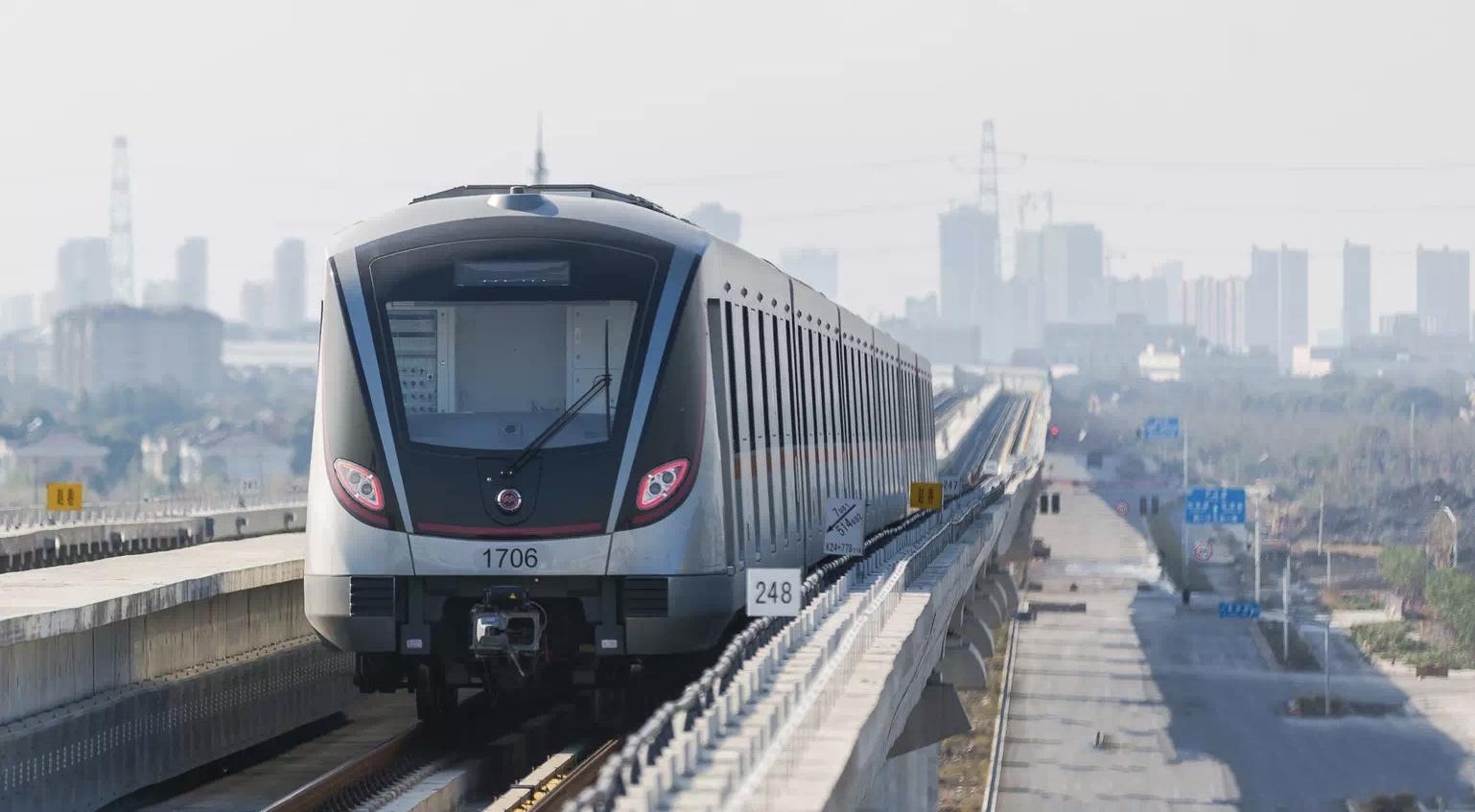 格力磁悬浮助力上海地铁2号线建设